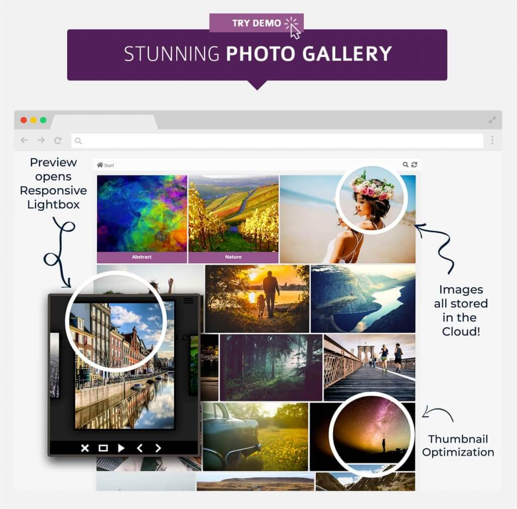 WP Cloud Plugins | Manage and Share your Pictures in the Cloud on a WordPress site
